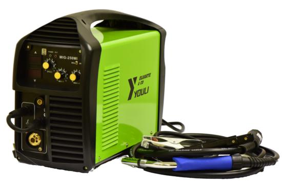 MIG/MAG Co2 IGBT Inverter 250A +MMA+polnjena žica
