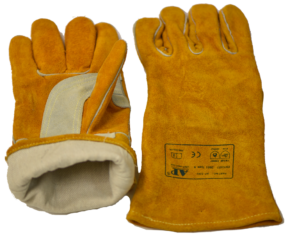Usnjene Rokavice AP- 2202 za varjenje po postopkih MIG MAG in MMA za